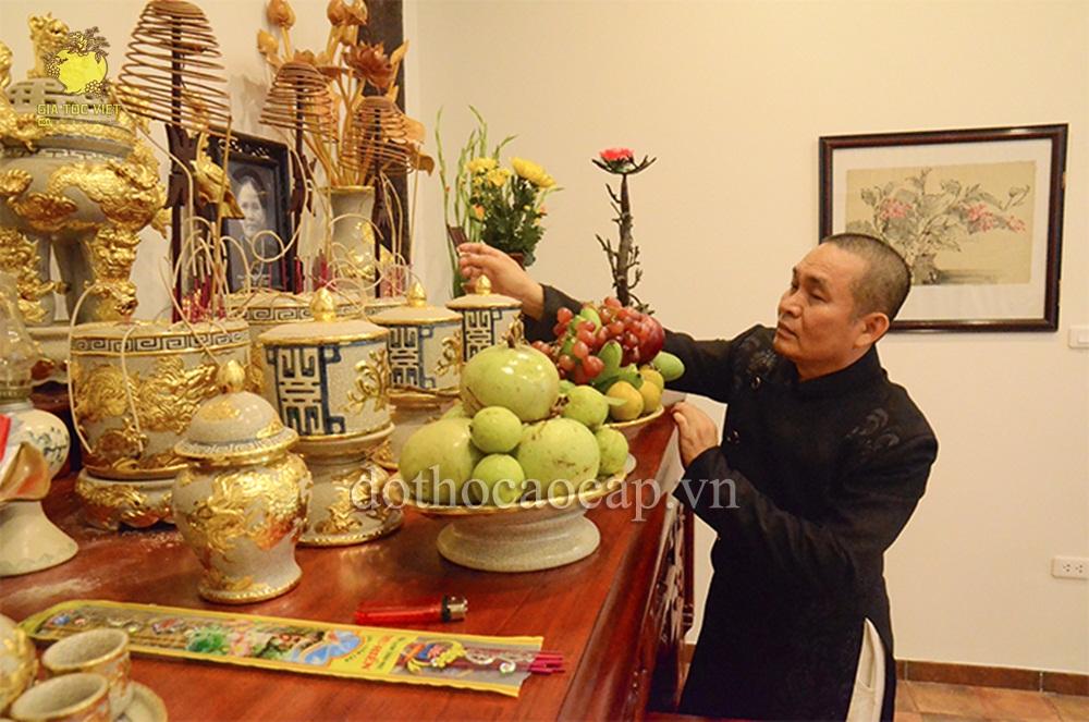 Cấu trúc thờ cúng tại nhà thờ họ và nghi thức tổ chức tế lễ hàng năm